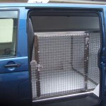 Cage at Sliding Door
