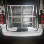 Dog Cage Van Conversion